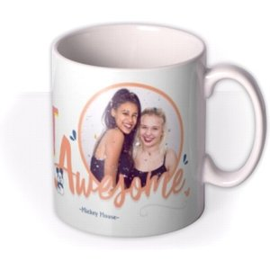 Don't Forget To Be Awesome Personalised Photo Upload Mug By Moonpig, Gift Set - Delivery A Dqu003 Mu