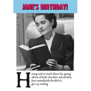 Funny Birthday Card, Giant Size By Moonpig Ddd056