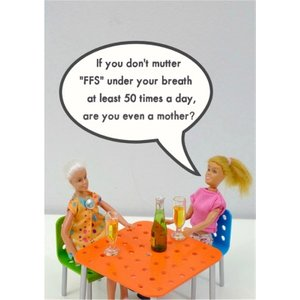 Funny Rude If You Dont Mutter Ffs Under Your Breath Card, Standard Size By Moonpig Bol166 St
