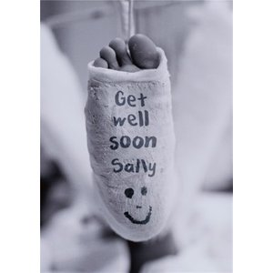 Get Well Soon Card, Large Size By Moonpig Ll601 Lg