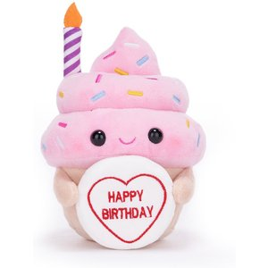 Happy Birthday Cupcake Soft Toy 22cm Gift Set By Moonpig - Delivery Available Sft987