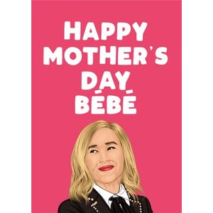 Happy Mothers Day Bebe Card, Large Size By Moonpig Fse411 Lg