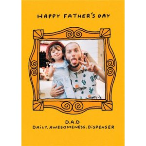 Haynes Explains The Dad Taxi Funny Father's Day Card, Giant Size By Moonpig Mxl009