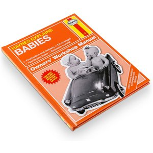 Haynes Manual On Babies Gift Set By Moonpig - Delivery Available Mens181