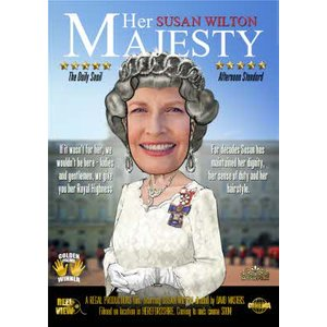Her Majesty Character Personalised Photo Upload Card, Large Size By Moonpig Mv216 Lg