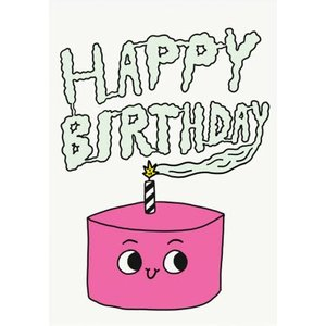 Jolly Awesome Happy Birthday Cake Card, Large Size By Moonpig Jol083 Lg