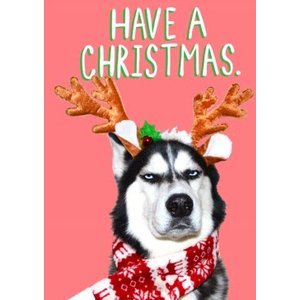 Jolly Awesome Have A Christmas Card, Giant Size By Moonpig Jol131