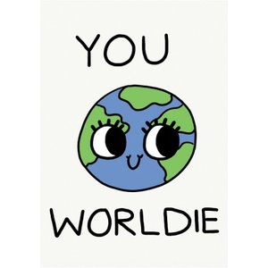 Jolly Awesome Your Worldie Humour Card, Large Size By Moonpig Jol103 Lg