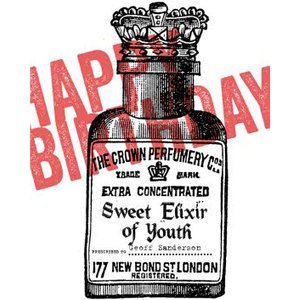 Sweet Elixir Of Youth Big And Bold Happy Birthday Card, Large Size By Moonpig Trmp002 Lg
