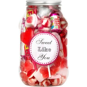 Sweet Like You Candy Jar (450g) Gift Set By Moonpig - Delivery Available Swee647