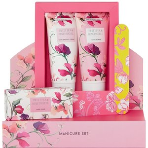 Sweet Pea & Honeysuckle Manicure Set Gift By Moonpig - Delivery Available Beau736