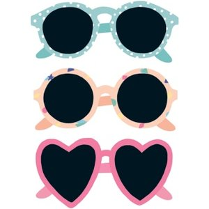 Three Pairs Of Sunglasses Cute Card, Large Size By Moonpig Sdj082 Lg