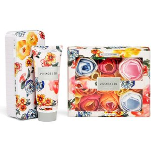 Vintage & Co Hand Cream And Bath Flowers Gift Set By Moonpig - Delivery Available Beau572