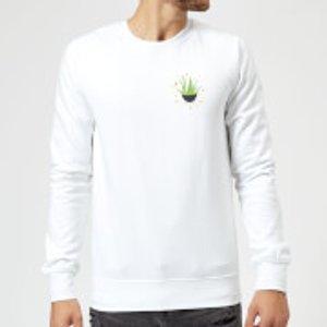 The Christmas Collection Aloe Vera Sweatshirt - White - Xxl - White Ms 1203 Ffffff Xxl, White