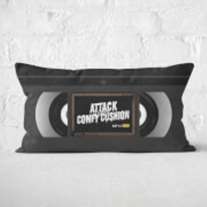 By Iwoot Attack Of The Cushion Rectangular Cushion - 30x50cm - Soft Touch  Cur 19811 30x50 St