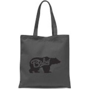 By Iwoot Baby Bear Tote Bag - Grey  Tb 631 888888