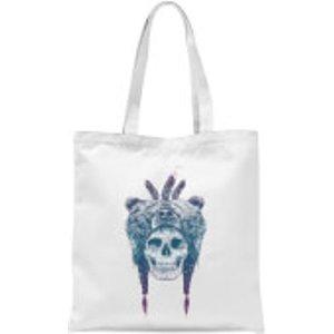 Balazs Solti Bear Head Tote Bag - White  Tb 4910 Ffffff