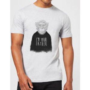 Balazs Solti I'm Your Father Men's T-shirt - Grey - 3xl - Grey Mt 4936 888888 3xl, Grey