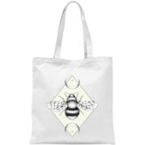 Barlena Bee Confident Tote Bag - White  Tb 9480 Ffffff