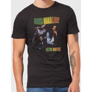 Bob Marley One Love Men's T-shirt - Black - L - Black Mt 6319 000000 L, Black