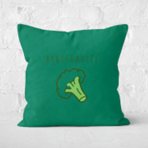 The Fitness Collection Broccoholic Square Cushion - 60x60cm - Soft Touch  Cu 2446 60x60 St