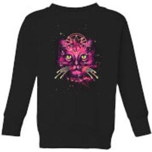 Captain Marvel Neon Goose Kids' Sweatshirt - Black - 5-6 Years - Black Ys 11044 000000 Ys, Black