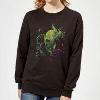 Captain Marvel Talos Women's Sweatshirt - Black - S - Black Ws 11050 000000 S, Black