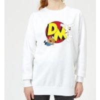 Danger Mouse Run! Women's Sweatshirt - White - Xl - White Ws 1219 Ffffff Xl, White