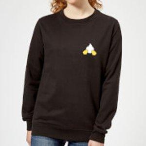 Disney Donald Duck Backside Women's Sweatshirt - Black - Xxl - Black Ws 12007 000000 Xxl, Black