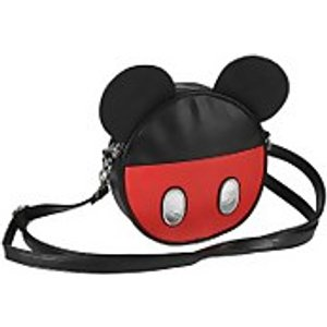 Cerda Disney Mickey Mouse With Ears Faux Leather Shoulder Bag  2100002368
