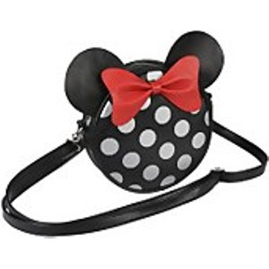 Cerda Disney Minnie Mouse With Ears Faux Leather Shoulder Bag  2100002369