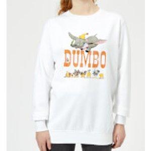 Disney Dumbo The One The Only Women's Sweatshirt - White - 5xl - White Ws 6400 Ffffff 5xl, White