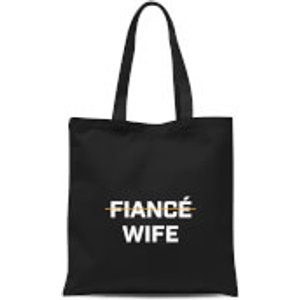 By Iwoot Fiance Wife Tote Bag - Black  Tb 478 000000