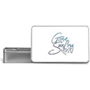 By Iwoot Gone Surfing Metal Storage Tin  St 4869 Ffffff