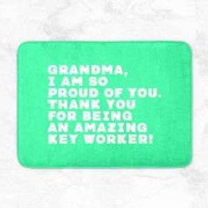 Support Key Workers Grandma, I Am So Proud Of You. Bath Mat  Bm 32844 38ffa8