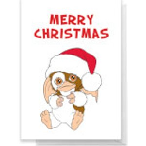Gremlins Merry Christmas Greetings Card - Standard Card  Rc 39388 Ffffff A6