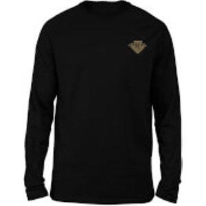 Harry Potter Ravenclaw Embroidered Unisex Long Sleeved T-shirt - Black - L  Mls 31779 000000 L
