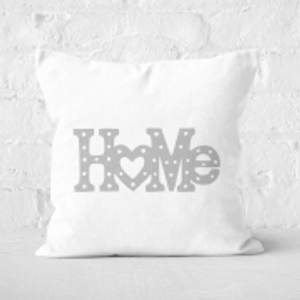 Wfh Home Typographic Square Cushion - 40x40cm - Soft Touch  Cu 32075 40x40 St