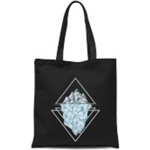 Barlena Iceberg Tote Bag - Black  Tb 9528 000000
