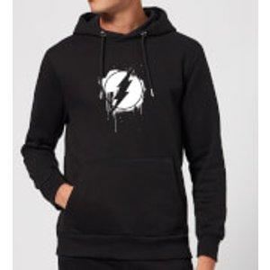 Dc Comics Justice League Graffiti The Flash Hoodie - Black - Xl - Black Mh 9466 000000 Xl, Black