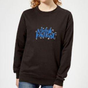 The Christmas Collection Kerstfeest Women's Sweatshirt - Black - Xxl - Black Ws 1112 000000 Xxl, Black