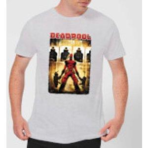 Marvel Deadpool Target Practice T-shirt - Grey - 5xl - Grey Mt 2037 888888 5xl, Grey