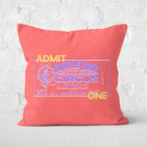 Pressed Flowers Circus Admittance Square Cushion - 60x60cm - Soft Touch  Cu 31044 60x60 St