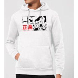 Cartoon Network Samurai Jack Arch Nemesis Hoodie - White - M - White Mh 14195 Ffffff M, White