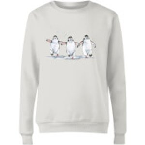 Snowtap Penguins Women's Sweatshirt - White - M - White Ws 36034 Ffffff M, White