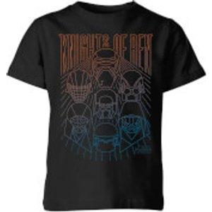 Star Wars Knights Of Ren Kids' T-shirt - Black - 7-8 Years - Black Yt 22555 000000 Ym, Black