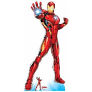 Star Cutouts The Avengers Iron Man Oversized Cardboard Cut Out  Sc1612