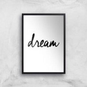 The Motivated Type Dream Giclee Art Print - A2 - Black Frame Multi Pr 27487 Ffffff A2bf, Multi