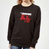 The Shining Red Tricycle Women's Sweatshirt - Black - Xxl - Black Ws 8590 000000 Xxl, Black