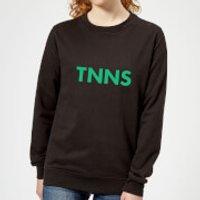 By Iwoot Tnns Women's Sweatshirt - Black - 5xl - Black Ws 988 000000 5xl, Black